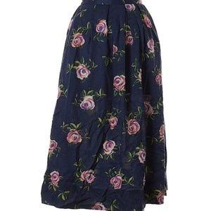 Vintage Floral Worthington Skirt